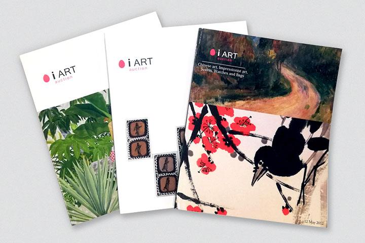 ジュエリーや骨董品のカタログ